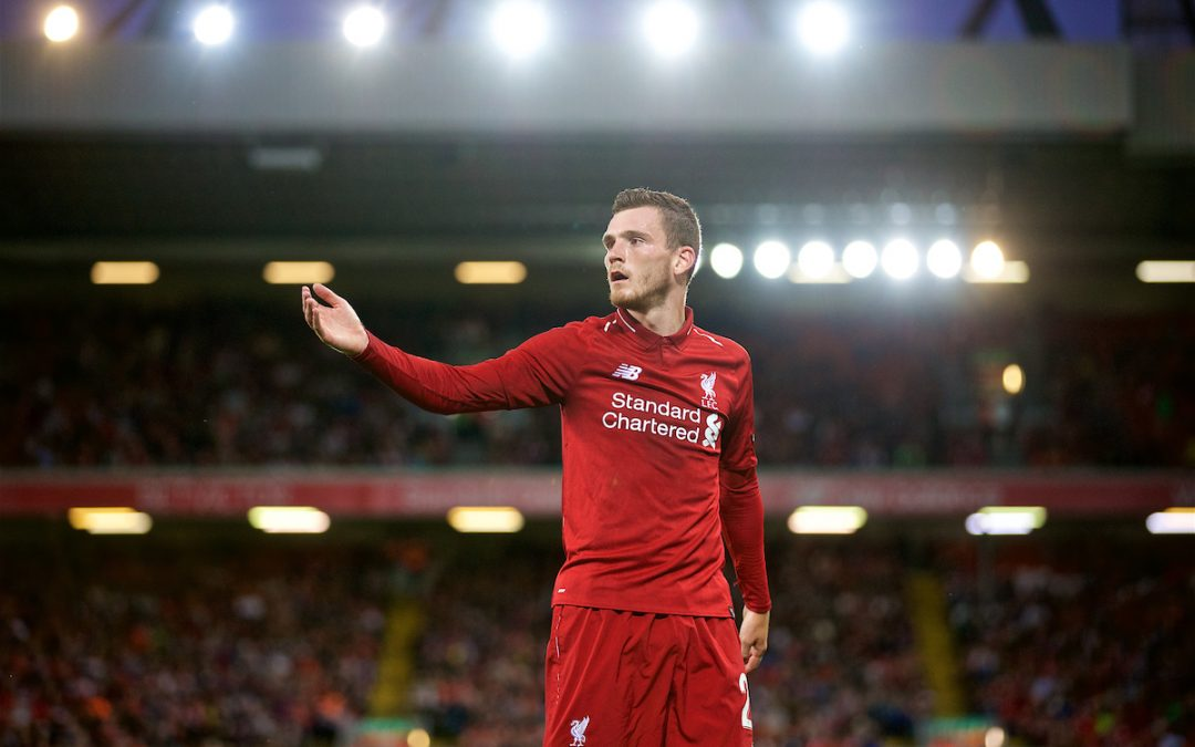 Andy Robertson: From Liverpool's Surprise Package To Scotland's Captain