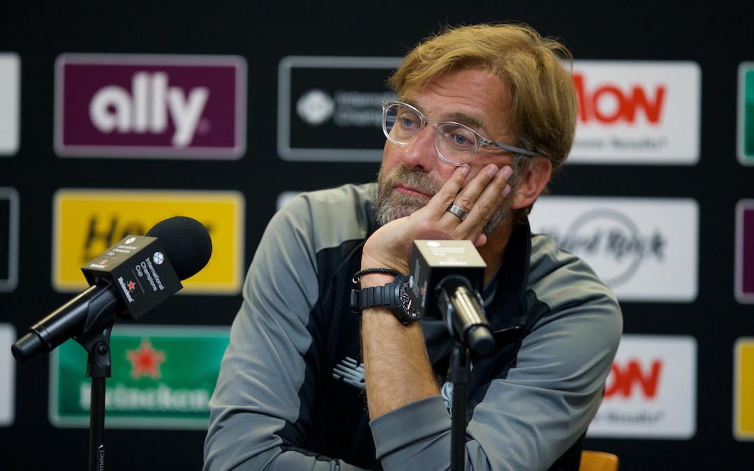 Tottenham Hotspur v Liverpool: The Team Talk