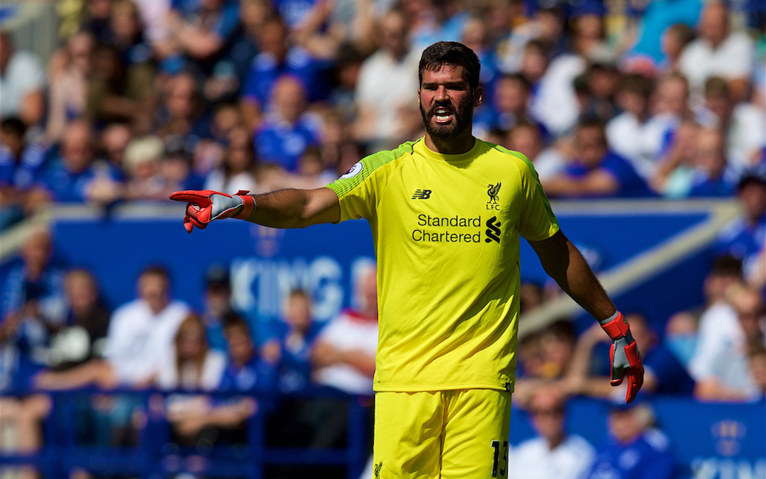 Why We Shouldn't Worry About Alisson's Leicester Error