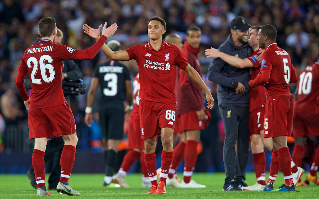 Liverpool Are Back Mixing It With The Big Boys At Anfield
