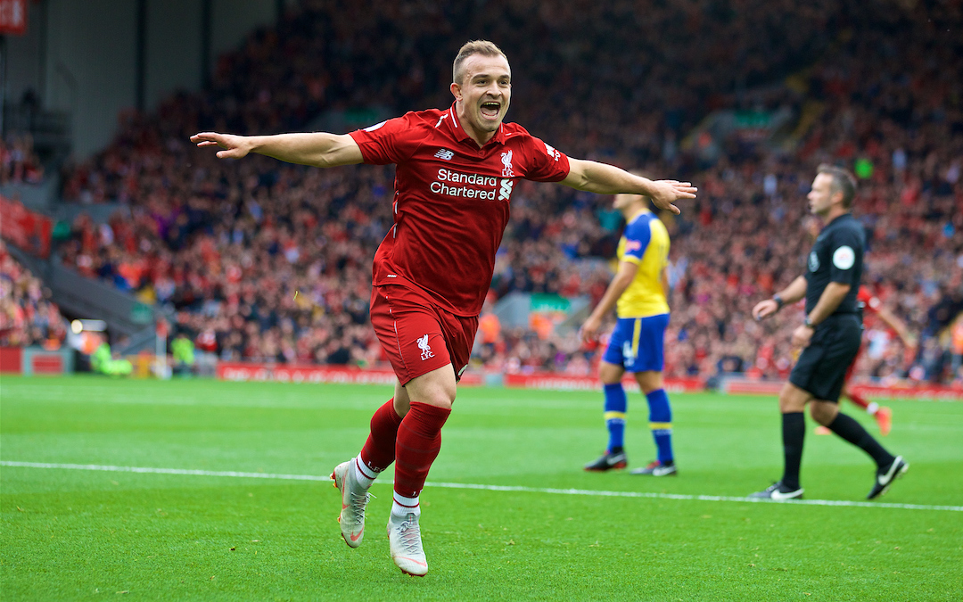 Was The Shaqiri Substitution A Sign Of Klopp's Growing Pragmatism?