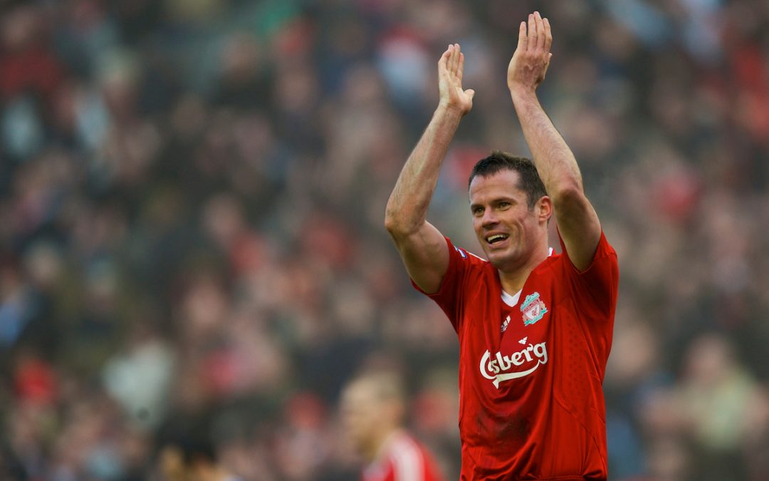 Desert Island Goals: Jamie Carragher