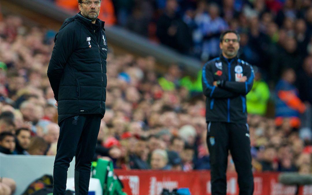 Huddersfield Town v Liverpool: The Team Talk