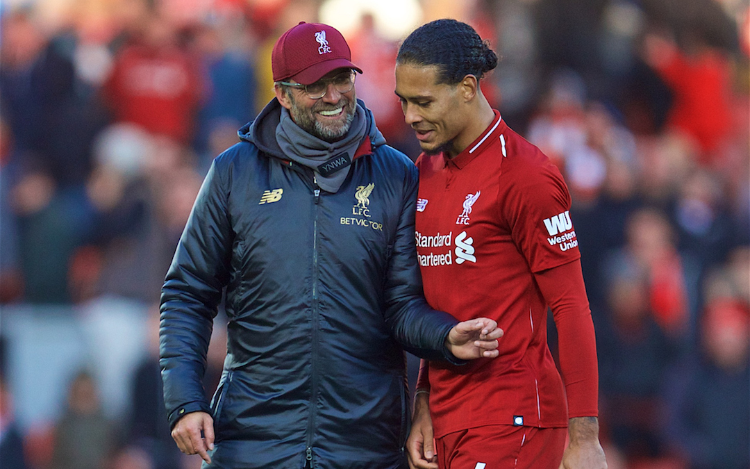 Is Van Dijk On The Virg Of Being The Best In The World?