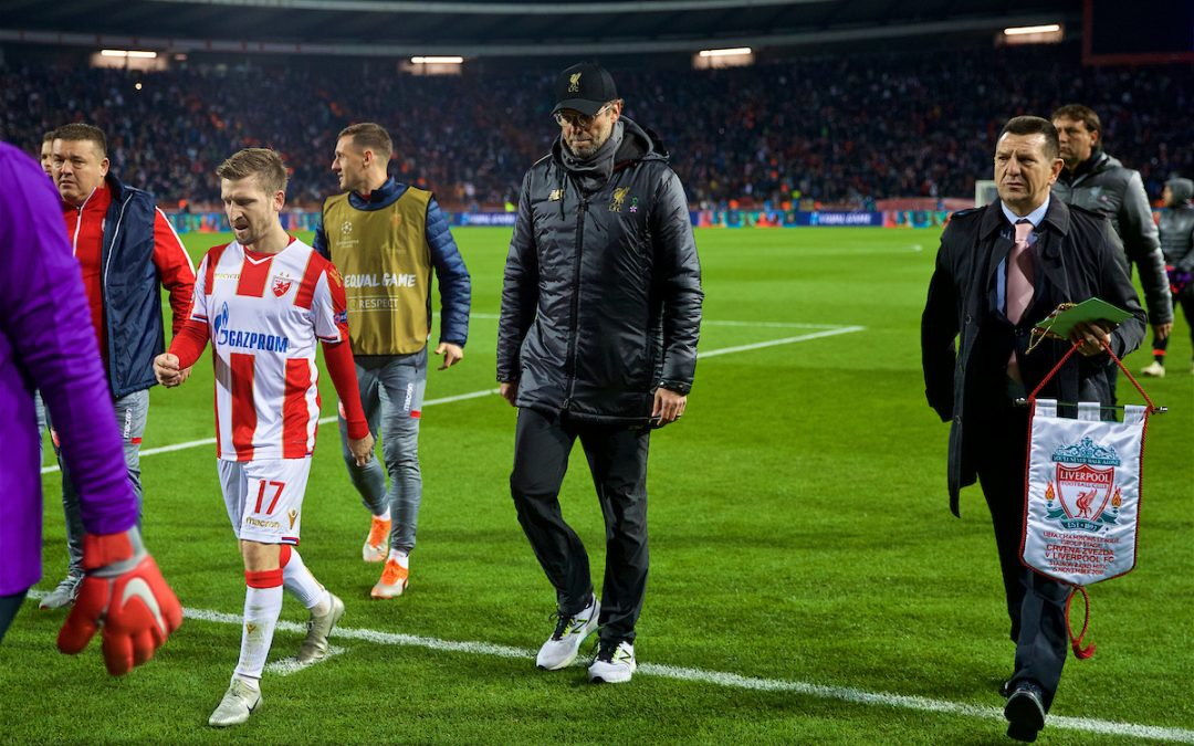 Red Star Belgrade 2 Liverpool 0: The Review