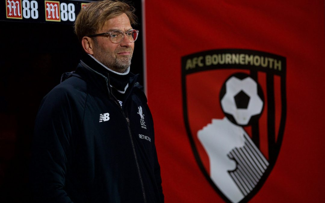 Bournemouth v Liverpool: The Team Talk