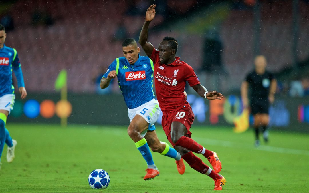 Liverpool v Napoli: Under The Lights