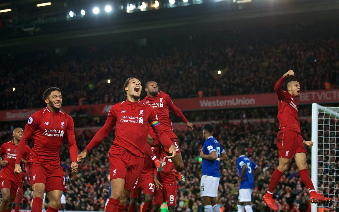 Why A Derby Day Win Would Catapult Liverpool Towards The Title