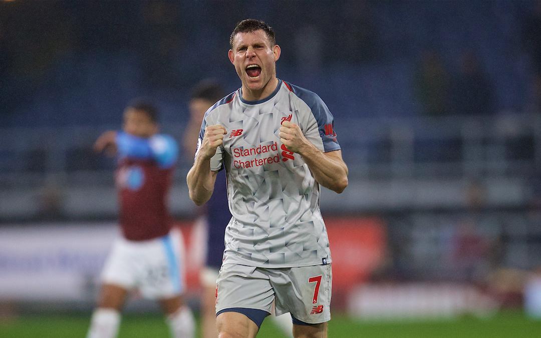 How James Milner Set The Bar During A Big Week For Liverpool
