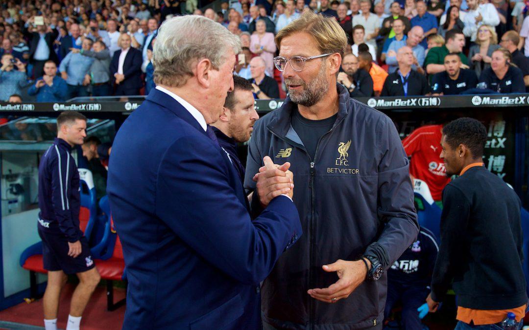 Liverpool v Crystal Palace: The Team Talk