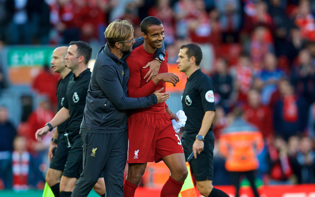Brighton & Hove Albion v Liverpool: The Team Talk