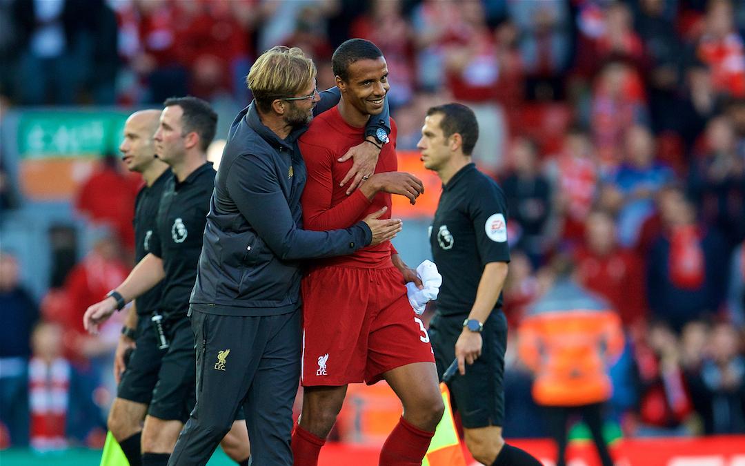 Brighton & Hove Albion v Liverpool: The Team Talk