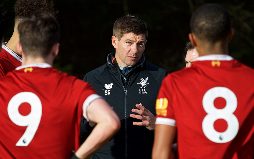 How Steven Gerrard's Influence Is Still Apparent At Liverpool's Academy