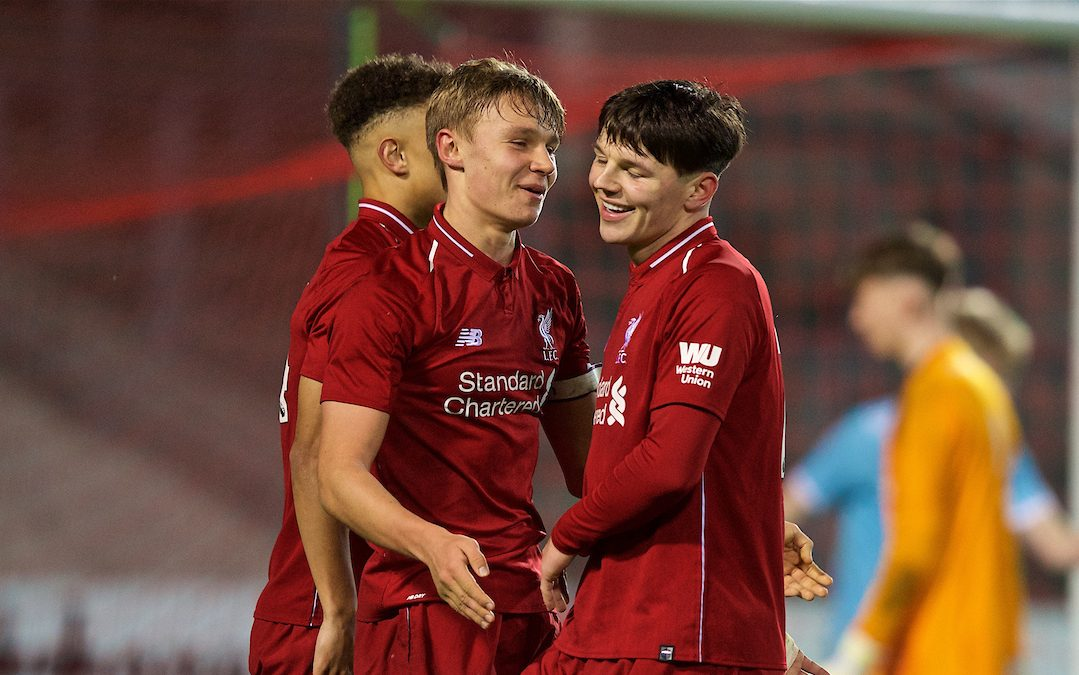 One For The Future: D&G De Rigueur For Liverpool U18s?