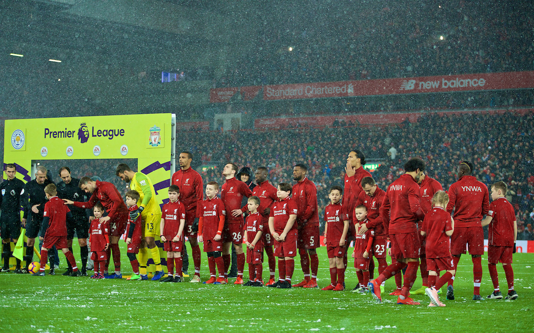 Liverpool's Title Tilt, 'Bottle' And The High Tensions At Anfield