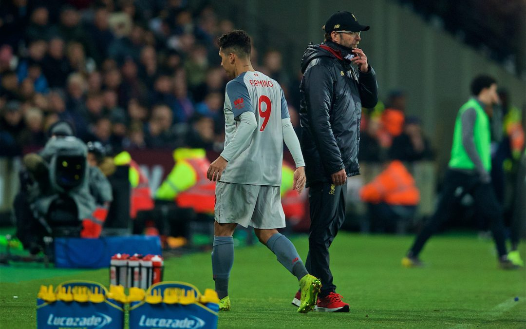Liverpool Have Hit A Bump In The Road – But It Shouldn't Affect Their Route