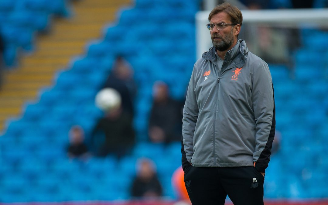 Pressure's Not A New Sensation For Jürgen Klopp's Liverpool