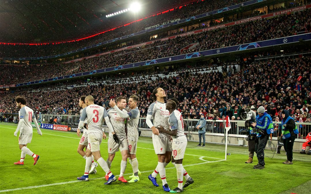 Bayern Munich 1 Liverpool 3: The Match Ratings