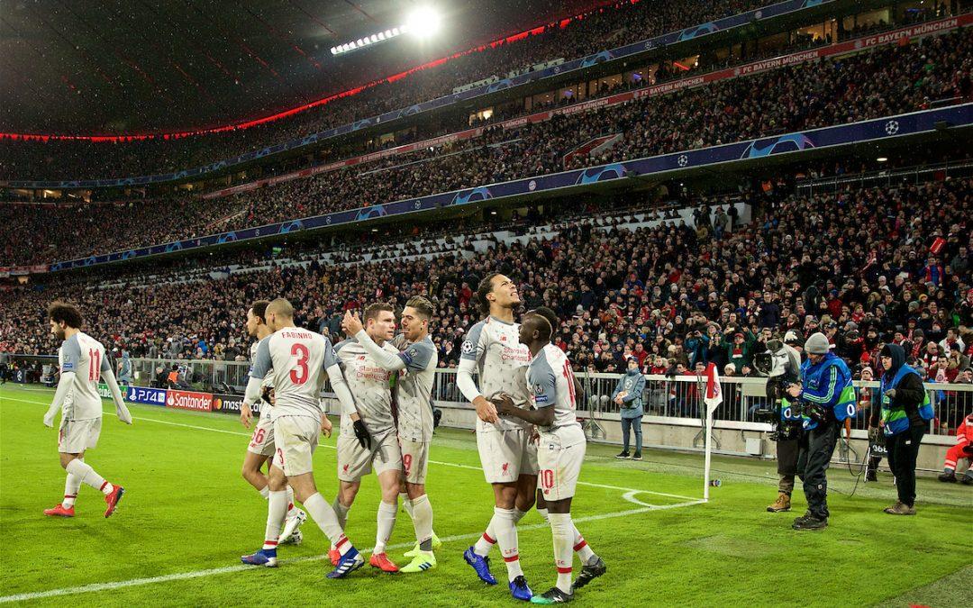 Bayern Munich 1 Liverpool 3: The Match Ratings