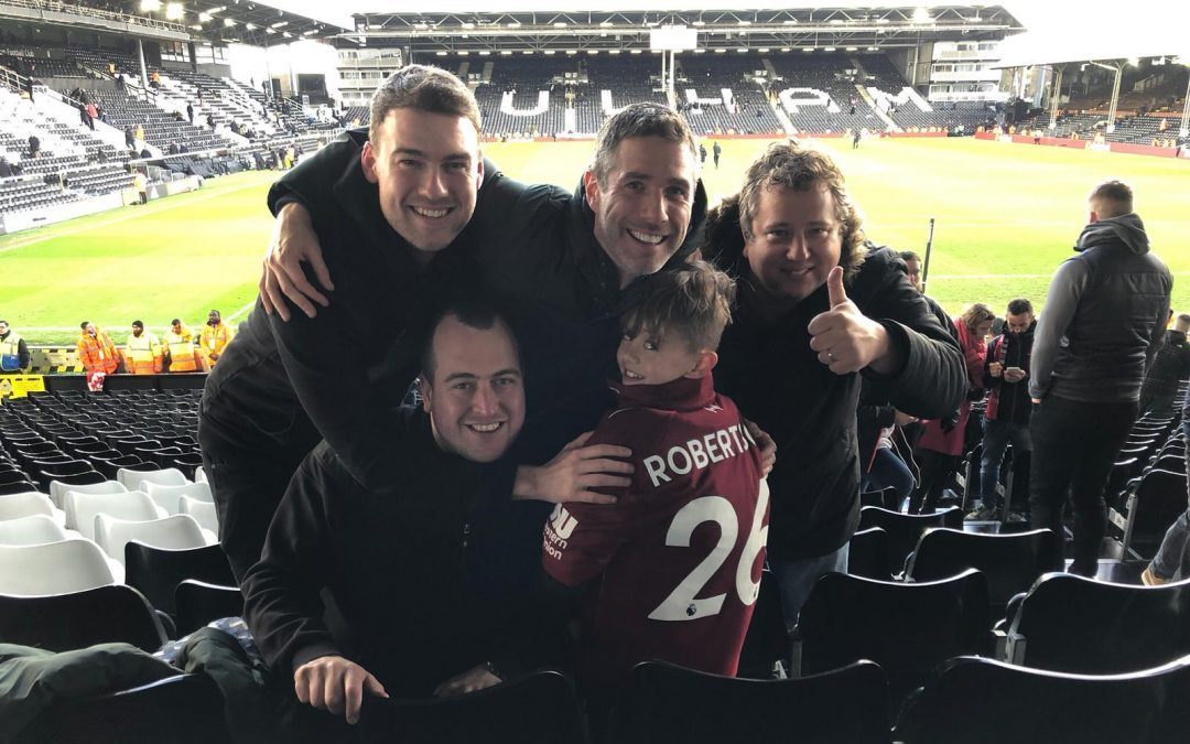 How Robertson Made A Youngster's First Away Trip One To Remember