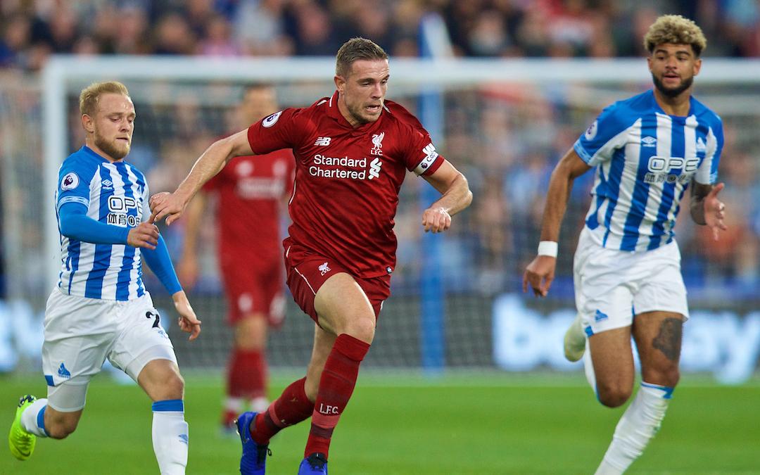 Liverpool v Huddersfield Town: The Team Talk