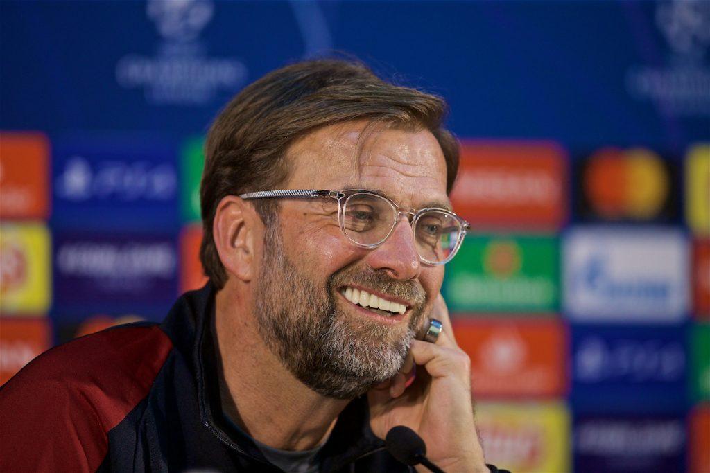 Jurgen Klopp Press Conference Champions League