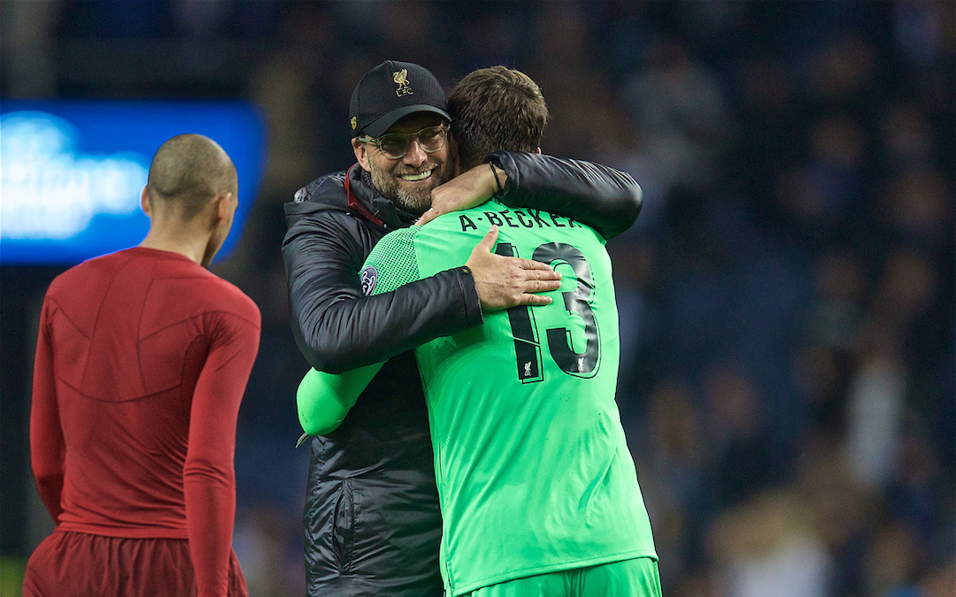 Controlled Porto Win Shows Reds' Increasing Stature In Europe