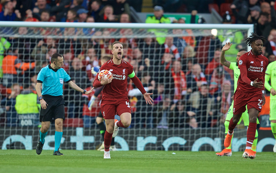 The Characteristics Displayed In Liverpool's Comeback Win Over Barca