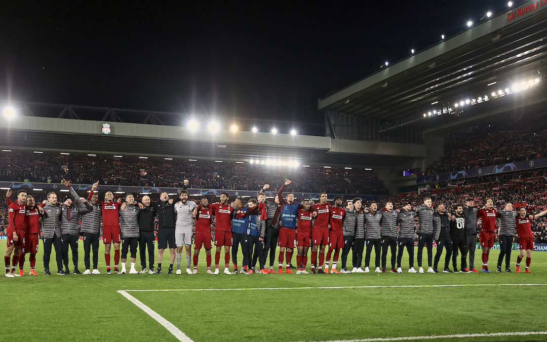 The Good Times Are Back – But Liverpool Must Take The Next Step Now