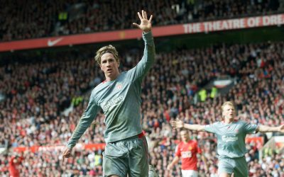 Fernando Torres vs Manchester United 2009