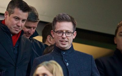 Liverpool's Director of Football Michael Edwards