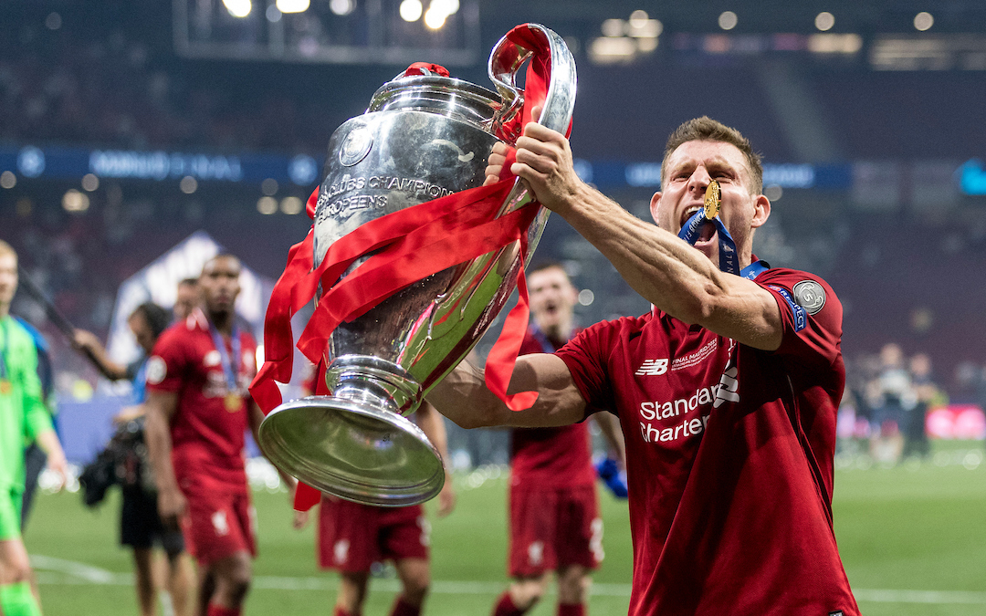 buy online b4978 10a69 Why Liverpool Would Do Well To Keep James Milner Around Longer