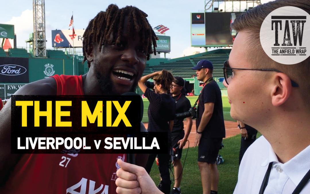 Liverpool v Sevilla | The Mix
