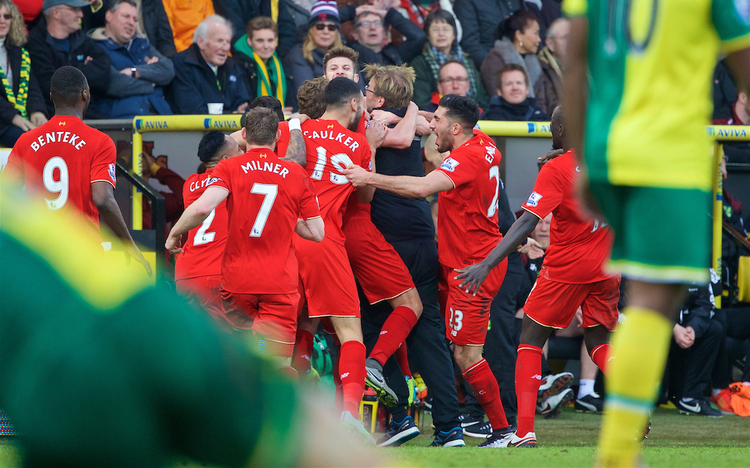 Liverpool v Norwich: The Big Match Preview