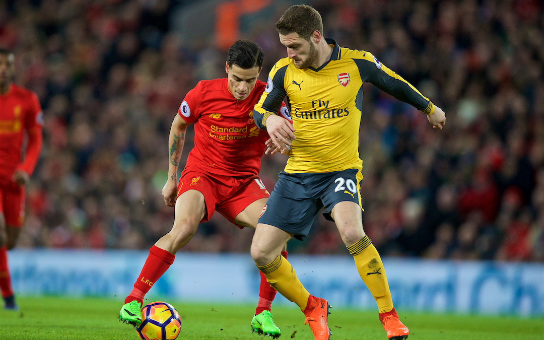 The Gutter: Arsenal After Philippe Coutinho?