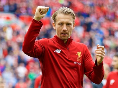Lucas Leiva Liverpool Anfield