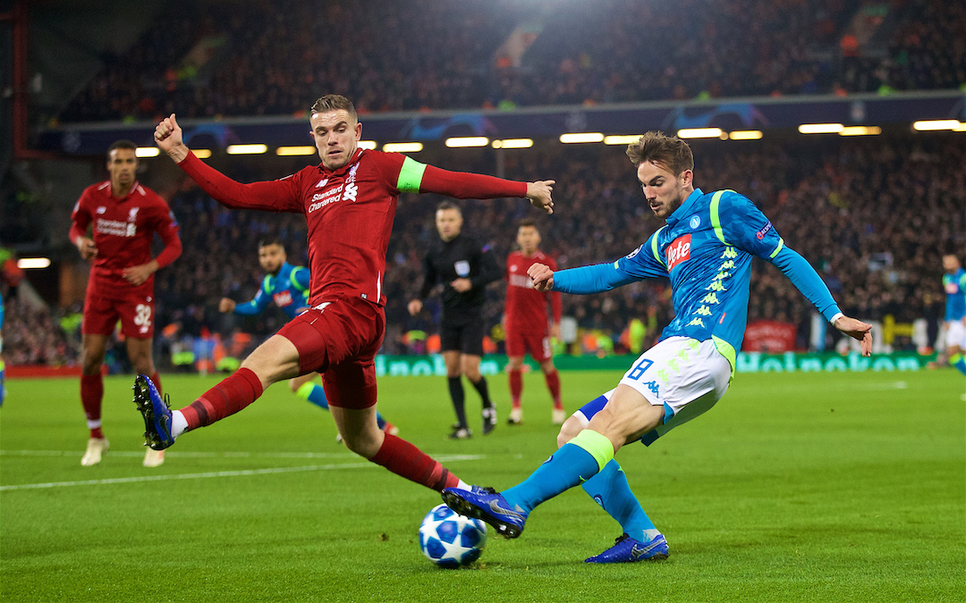 Napoli v Liverpool: The Champions League Preview