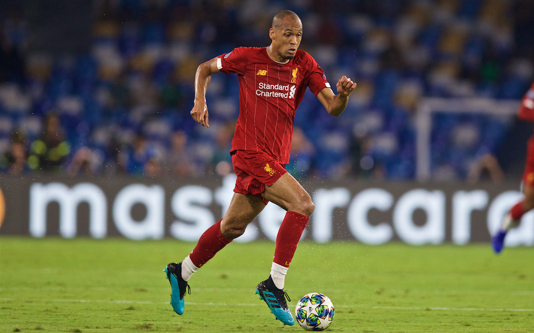 How Fabinho Has Grown Beyond His Years Within 12 Months At Anfield