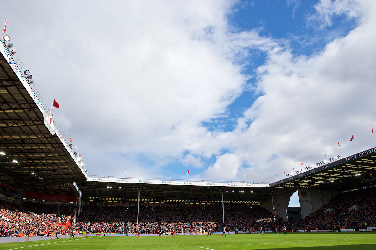 SHEFFIELD, ENGLAND - Thursday, September 26, 2019: A general view during the FA Premier League match between Sheffield United FC and Liverpool FC at Bramall Lane. (Pic by David Rawcliffe/Propaganda)