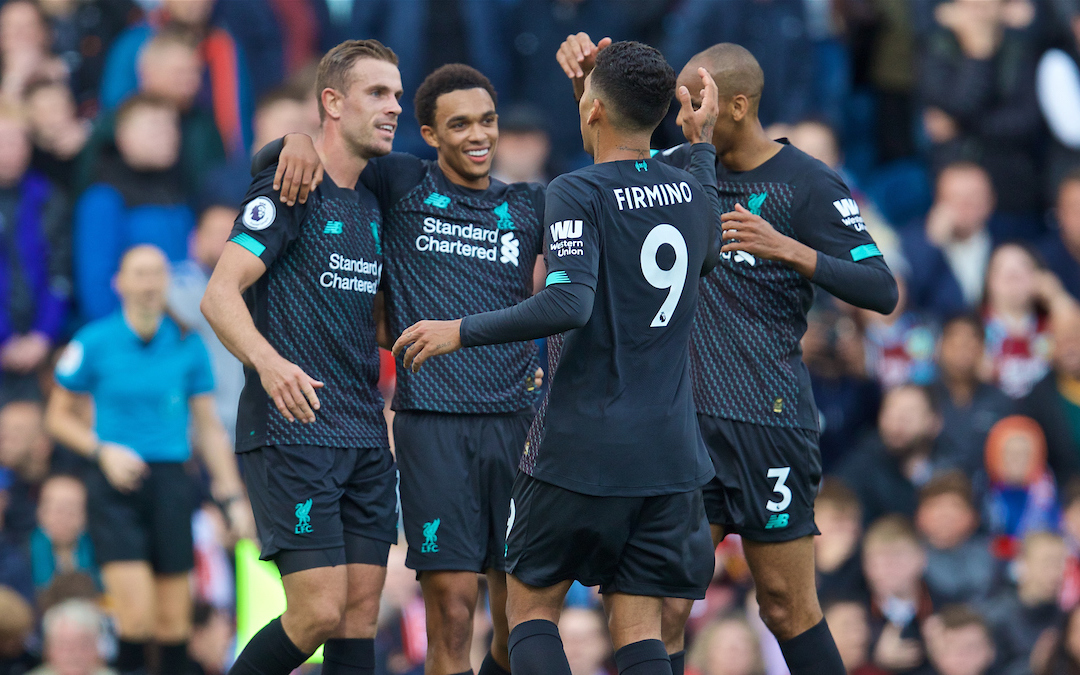 Liverpool's Transformation Epitomised By Recent Results Against Burnley