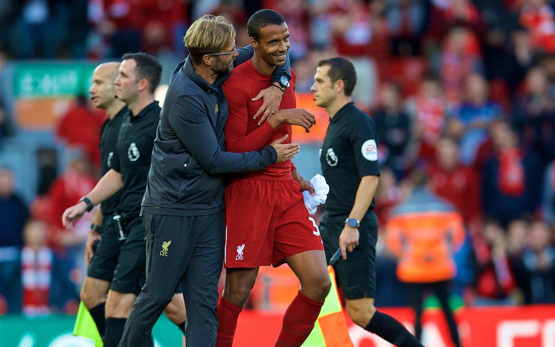 Liverpool v Tottenham Hotspur: The Team Talk