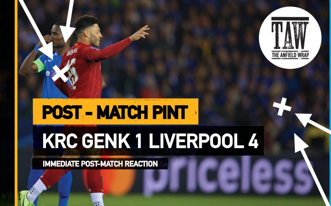 KRC Genk 1 Liverpool 4 | The Post-Match Pint