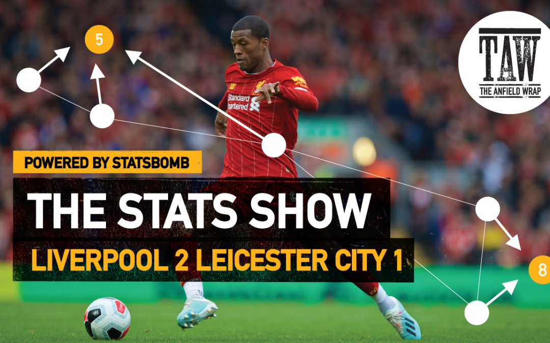 Liverpool 2 Leicester City 1 | The Stats Show