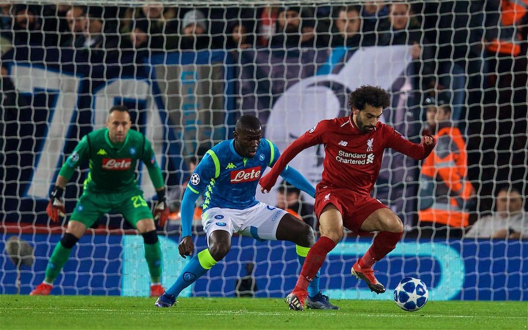 Liverpool v Napoli: Under The Lights