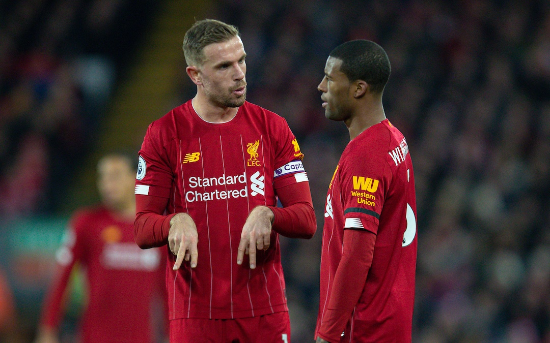 Is The Big Difference Between Klopp And Pep Henderson And Wijnaldum?