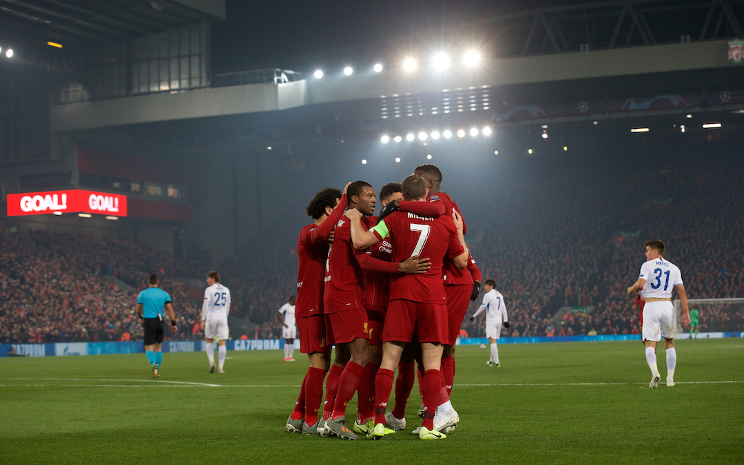 Liverpool 2 KRC Genk 1: The Match Ratings