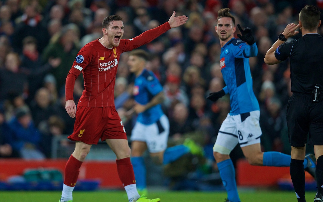 Liverpool 1 Napoli 1: The Match Ratings