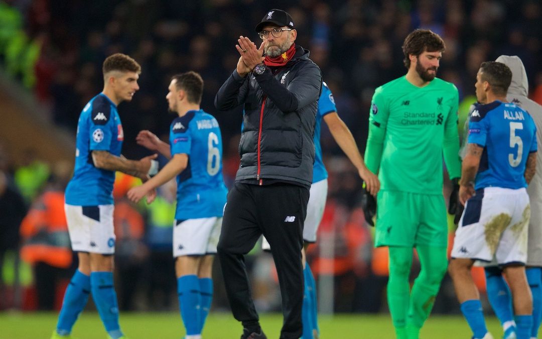 Liverpool 1 Napoli 1: The Match Review