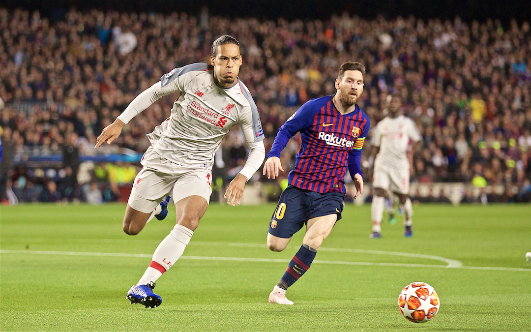 Van Dijk Loses Ballon d'Or Battle But Liverpool Have Won The Barca War