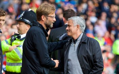 Jürgen Klopp and Jose Mourinho